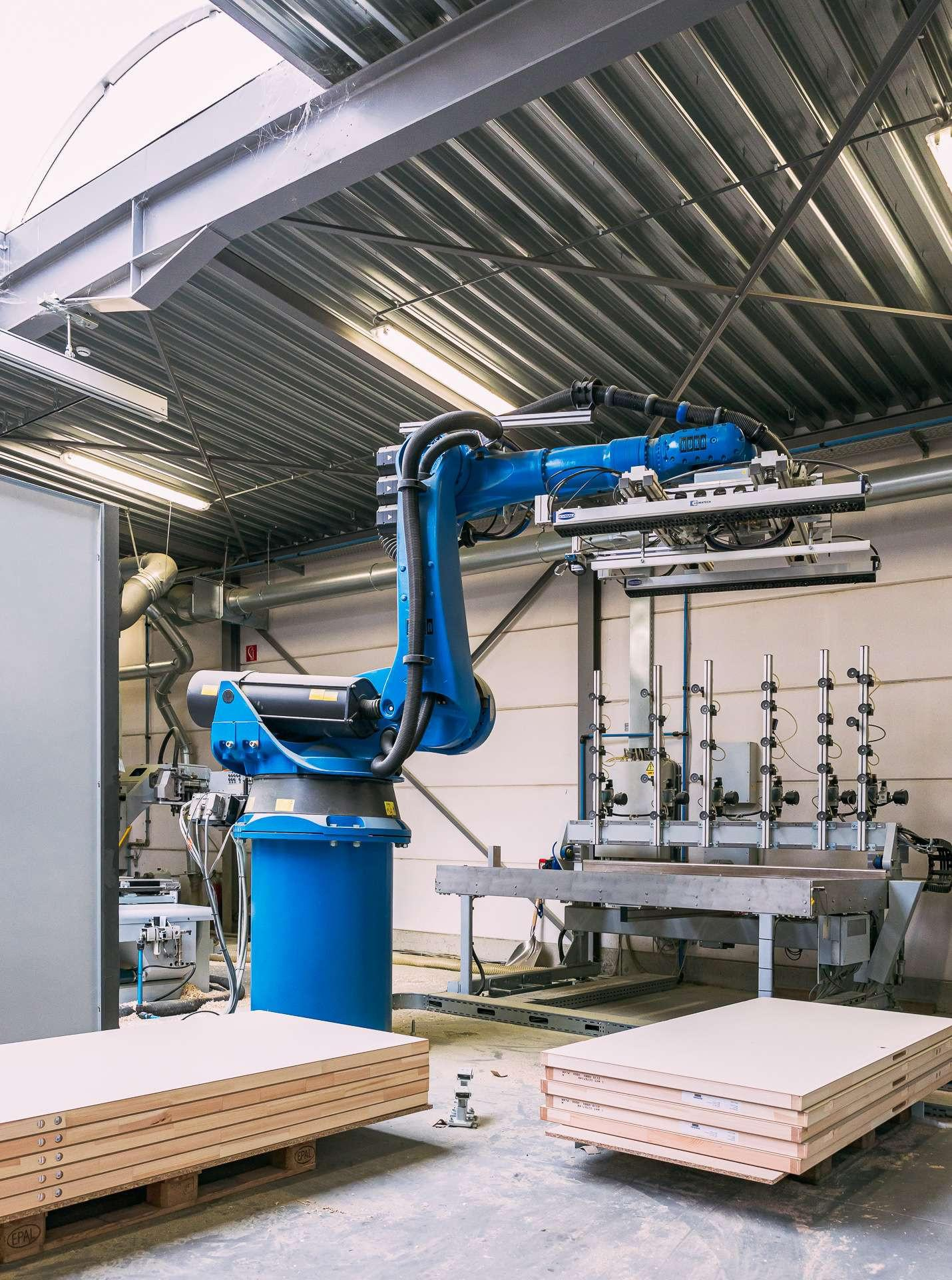 ATA Interieur - Productie - Industrie 4.0 robot