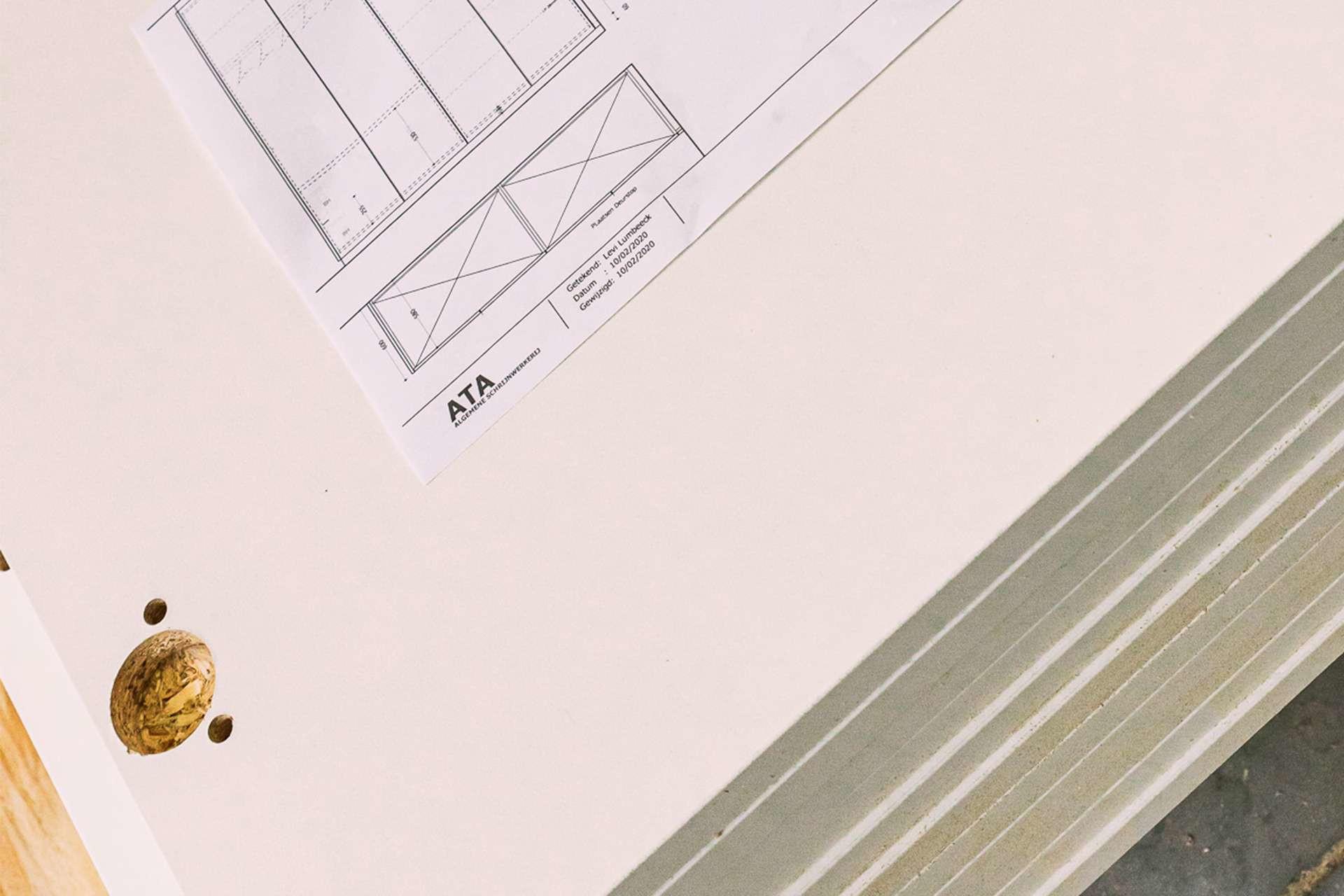 ATA Interieur - Productie - Constructieboringen en plan