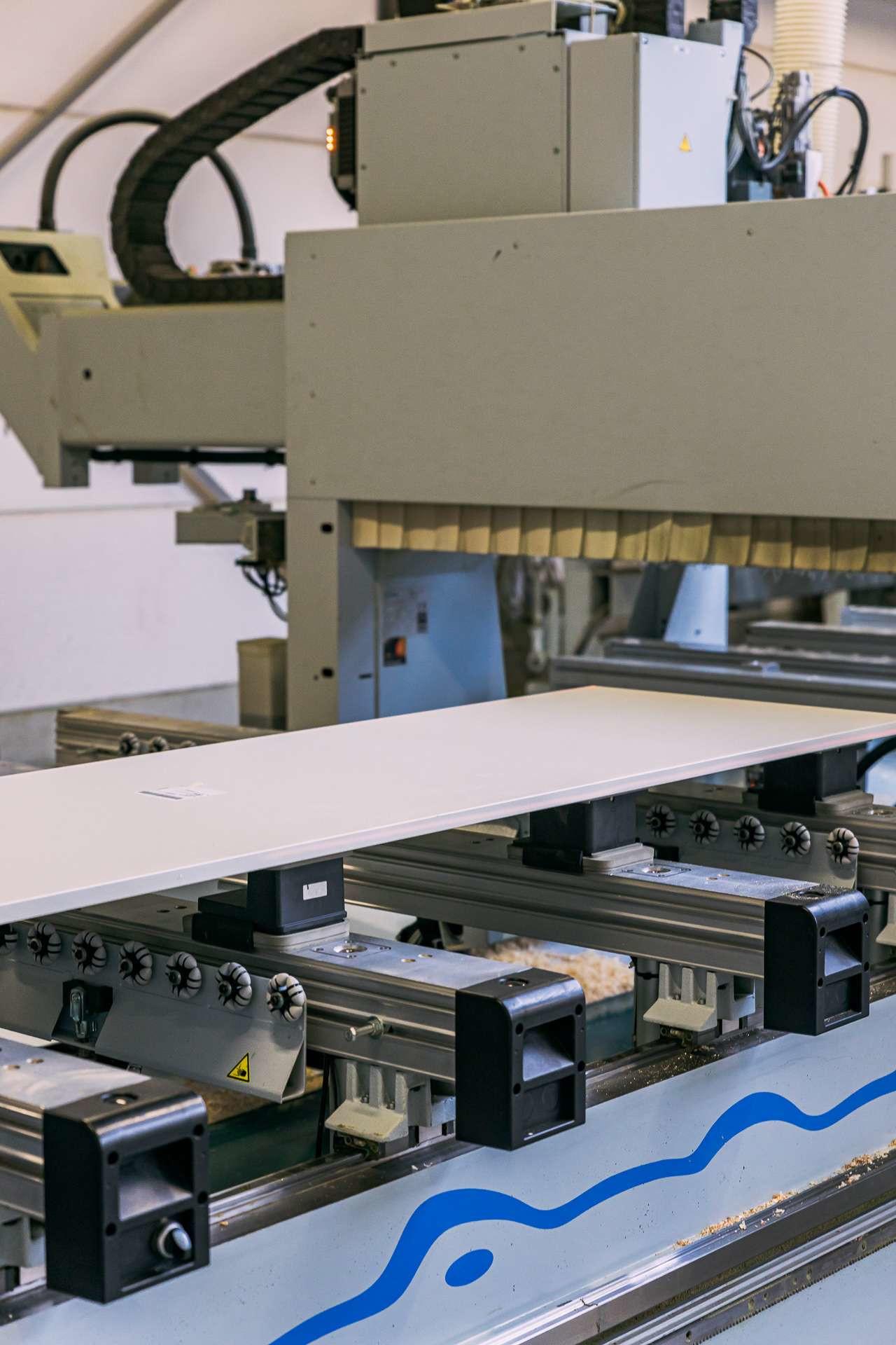 ATA Interieur - Productie - 5 assige CNC Machine